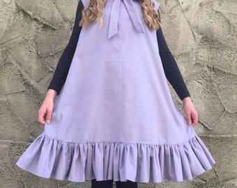 Handmade 'Olivia' Dress in Needlecord
