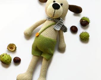 Crochet stuffed dog, Gift crochet dog, Crocheted dog, Stuffed puppy toy, Stuffed plush dog, Amigurumi dog, Crochet dog,Dog lover gift, dogs