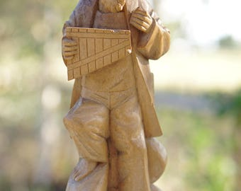 Flute statue | Etsy