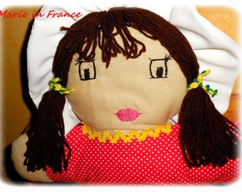 Ragdoll cushion