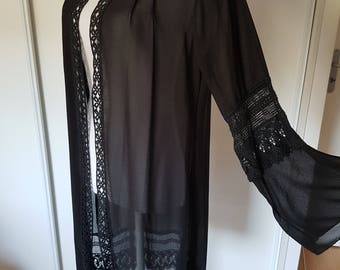 Summer long vest