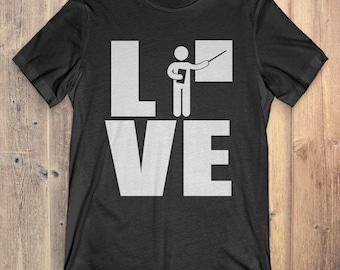 Teacher T-Shirt Gift: Love Teacher
