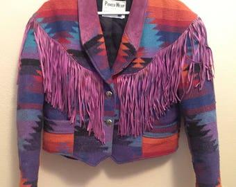 Pioneer Wear - Vintage - Southwestern Jacket