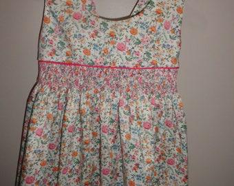 Liberty print sun dress