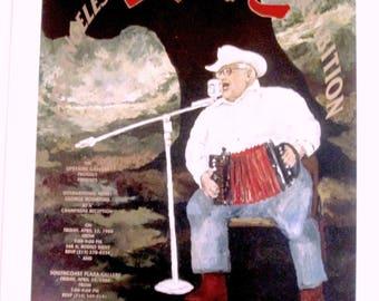 1988 EXhibition Poster Bon Temps Roulee