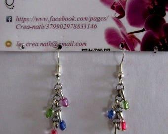 multicolor Pearl Earring