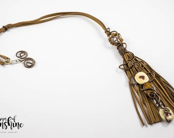 Back to nature necklace