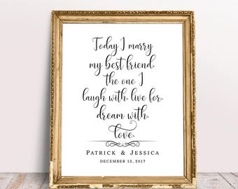 wedding quote etsy
