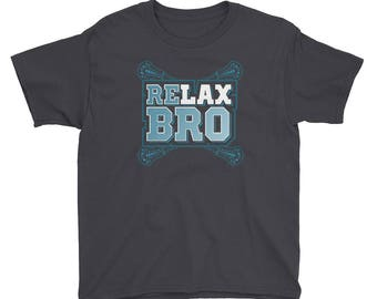 ReLAX Bro Lacrosse T-Shirt Youth