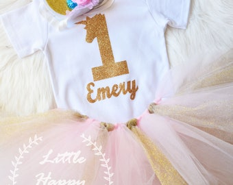 Unicorn 1st birthday outfit, unicorn outfit, first birthday outfit, smash the cake unicorn, Unicorn Birthday, Cake smash,