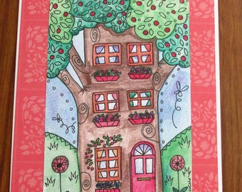 Good Luck In Your New Home - Tree House