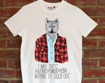 Anthropomorphic Wolf T-shirt