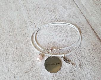 Handmade bracelet maid of honor / bridesmaid