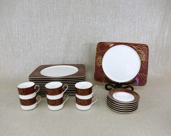 Set of Dishes by Savoir Vivre
