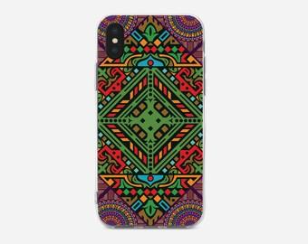 Mandala iPhone Case, iPhone X case, iPhone 8 case, iPhone 8 Plus case, iPhone 6S, iPhone 7 Plus case, iPhone 5C case, iPhone SE, iPhone 5S