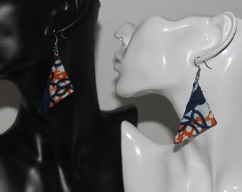 earrings, african fabric, ankara, jewellery, accessories, african earrings, ankara earrings, afrocentric earrings