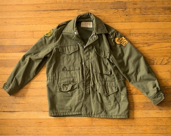 Vintage Wisconsin Trapping Coat
