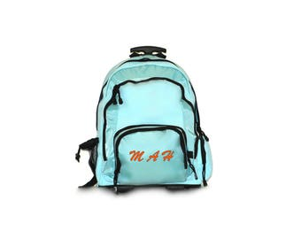 Monogram Rolling School Backpack Carry-On