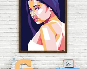 Nicki Minaj Limited Artwork