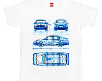 SAAB tshirt 96 900 9-3 sweden swedish classic car vintage