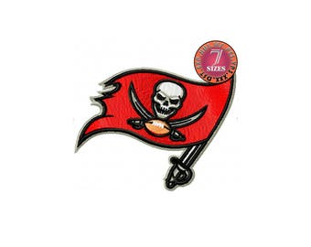 Tampa Bay Buccaneers  7 Sizes Sport Team Embroidery Design instatnt download machine embroidery pattern