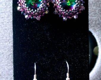 Ravioli earrings
