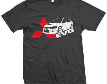 EVO 8 9 VIII IX Lancer Side Evolution T-shirt