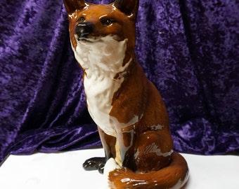 "LARGE HEARTH FOX by Beswick England 12 3/4"" #2348"