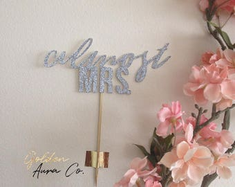 Bridal Shower / Engagement Cake Topper