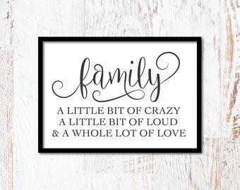 Family Quote SVG, Modern Farmhouse, Farm Cut File, Magnolia Market Sign, Printable, Cuttable, SVG, Vinyl, Sticker, Print, Cut File, Vector