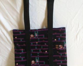 Donkey Kong Arcade Tote Bag