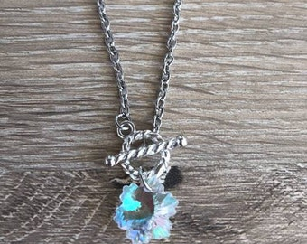 BTS Crystal Snow inspired Necklace