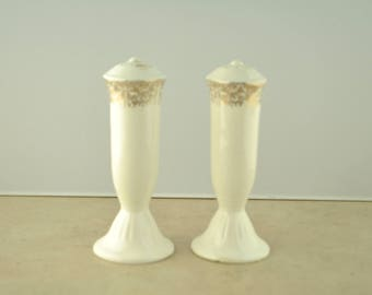 Colonial Gold Salt and Pepper Shaker Set