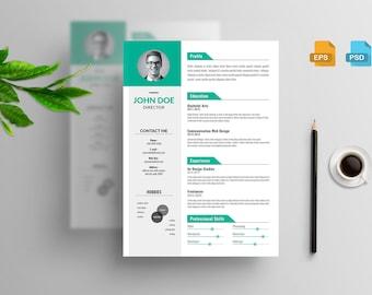 Personal Clean Resume CV