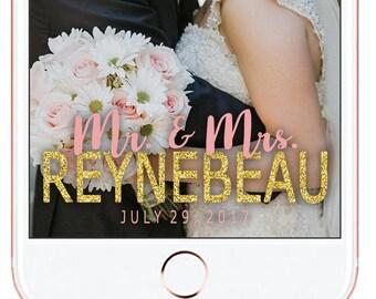 Wedding Snapchat Geofilter #3
