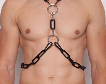 Metal Chain Harness