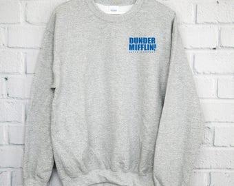 Dunder Mifflin Co Sweatshirt, The Office Shirt, Dwight Schrute Farms, Dunder Mifflin, Michael Scott, The Office Shirt, Pam Jim