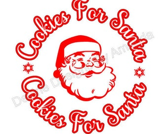 Cookies for Santa Svg file
