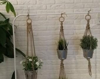Jute macramé Plant Pendant 95 cm