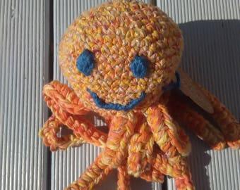 Octopus plush ~ Sam