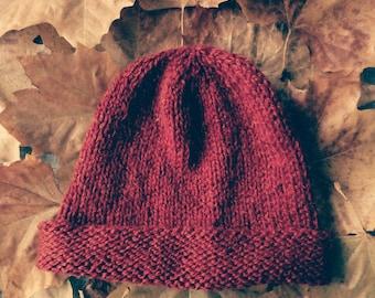 Hat reversible (plain or Heather)