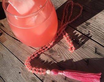 Pink Lemonade Mala