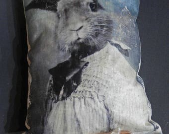 "Pillow ""rabbit"""