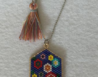 Miyuki Flowered Necklace