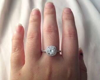Promise Ring ~ Silver Promise Ring ~ Women's Promise Ring ~ Gifts for Women ~ Promise Ring for Her ~ Engagement Ring ~ Wedding Ring