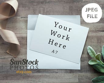 Card Mockup | Styled Stock Photography | Stock Photography