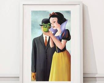 René Magritte/Snow White