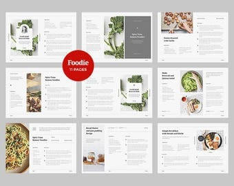 Foodie   Cookbook Template