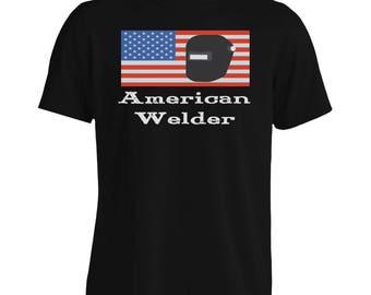American Welder 1 Men's T-Shirt s672m