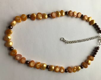 Necklace - Fresh Water Pearl